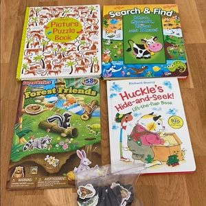 Bundle Animal Themed Books & Activity Books